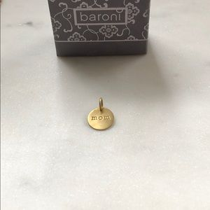 Baroni | Gold Vermeil Over .925 Silver Mom Charm